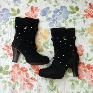 No Boundaries Black Mid-Calf Boots